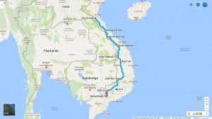 route hcmv